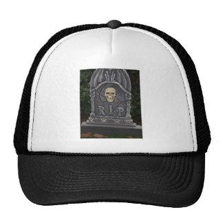 R.I.P Headstone - photograph Hat
