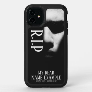 R.I.P memorial case for Funeral and Bereavements