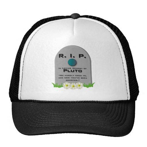 R.I.P. Pluto Trucker Hat