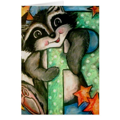 R Is For Raccoon R is for Raccoon Cards...