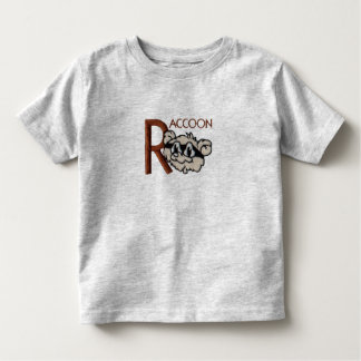R is for Raccoon Toddler T-shirt