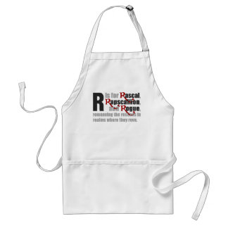 R is for Rascal Apron