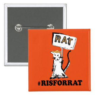 R is for Rat Button
