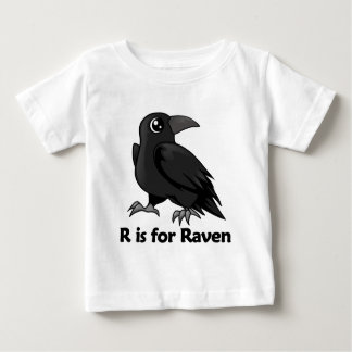 R is for Raven Baby T-Shirt