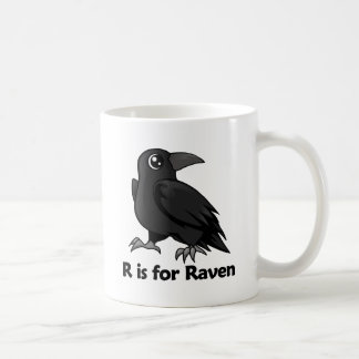 R is for Raven Coffee Mugs