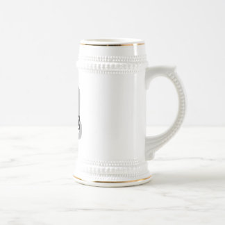 R is for Rene 18 Oz Beer Stein