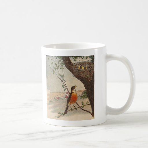 R is for Robin Mugs