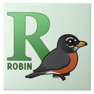 R is for Robin Tile