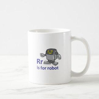 R IS FOR ROBOT COFFEE MUG
