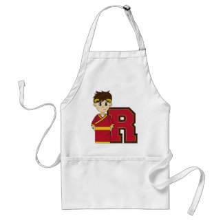 R is for Roman Emperor Adult Apron