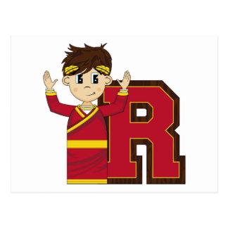 R is for Roman Emperor Postcard