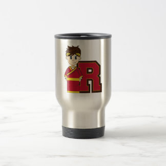 R is for Roman Emperor Travel Mug