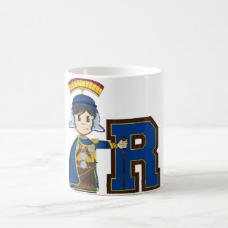 R is for Roman Soldier Coffee Mug