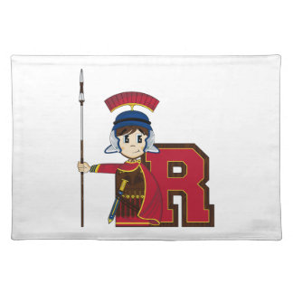 R is for Roman Soldier Place Mats