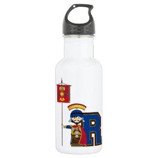 R is for Roman Soldier Water Bottle