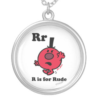 R is for Rude Necklaces