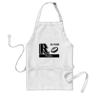 R Is For Rugby Apron