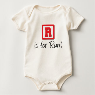 R Is For Run Baby Creeper