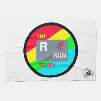 R is for Run Towel