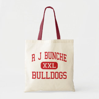 R J Bunche - Bulldogs - Middle - Metairie Tote Bags