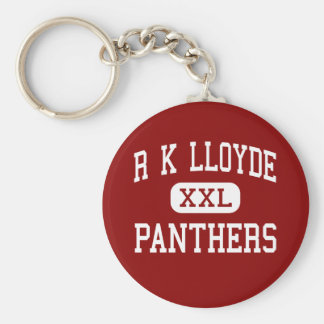 R K Lloyde - Panthers - Continuation - Lawndale Keychain