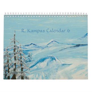 R. Kampas Calendar 6 Calendarios
