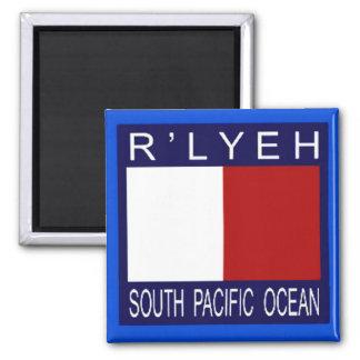 R LYEH South Pacific Imán Para Frigorifico