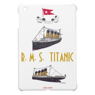 R M S Mini caso del iPad titánico iPad Mini Coberturas