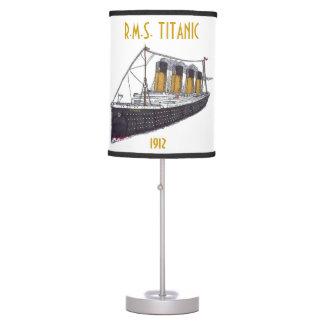 R.M.S. Titánico - lámpara de mesa
