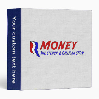 R-MONEY 3 RING BINDER