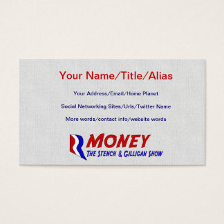 R-MONEY BUSINESS CARD