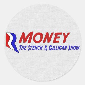 R-MONEY CLASSIC ROUND STICKER