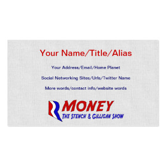 R-MONEY Double-Sided STANDARD BUSINESS CARDS (Pack OF 100)