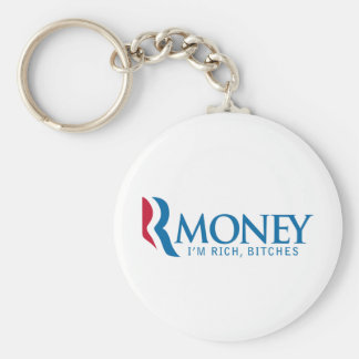 R-Money Mitt Romney LOL Keychain