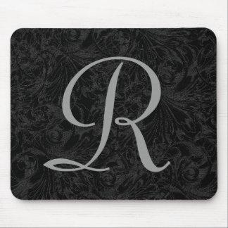 R :: Monogram R Elegant Mousepad - Initial Letter