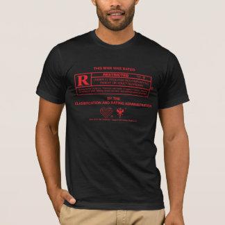 R-Muestra: Hombre - rojo Playera