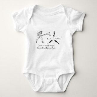 R n R Reissys Logo Baby Bodysuit