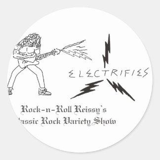 R n R Reissys Logo Classic Round Sticker