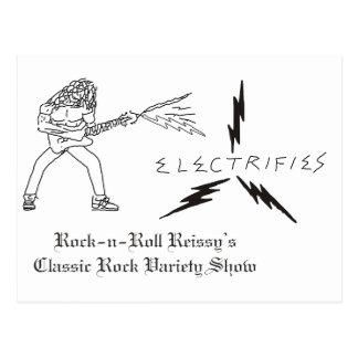 R n R Reissys Logo Postcard