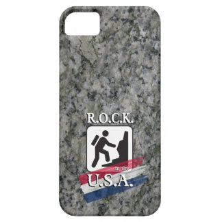 R.O.C.K. in the U.S.A. - iPhone 5 - Hiker Case iPhone 5 Cases