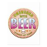 R obsesionado cerveza postal
