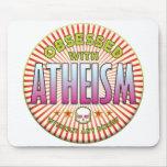 R obsesionado el ateísmo alfombrillas de raton