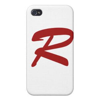R para ridículo apuesto iPhone 4 cobertura