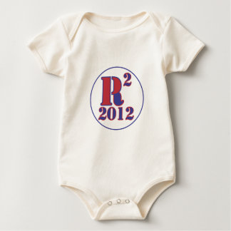 """R"" Paul Squared Baby Bodysuit"