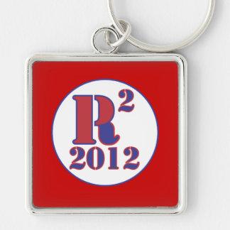 """R"" Paul Squared Keychain"