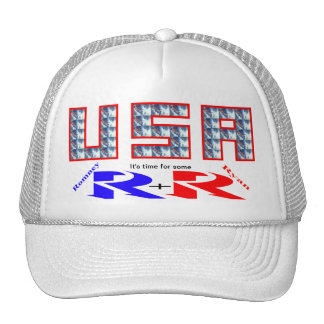 R+R (Romney and Ryan) Trucker Hat