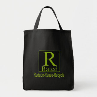 R Rated Recyle Tote Bag