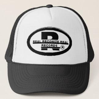 R records 8 trucker hat