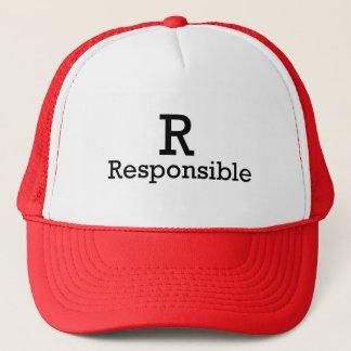 R - Responsible Trucker Hat