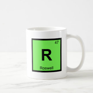 R - Roswell New Mexico Chemistry Periodic Table Coffee Mug